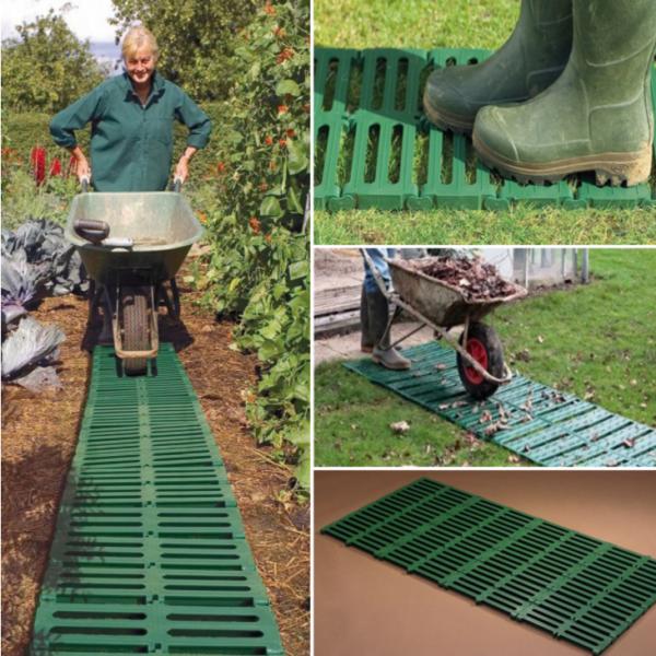 Garden path track