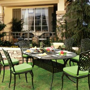 Cast Aluminum luxury outdoor furniture