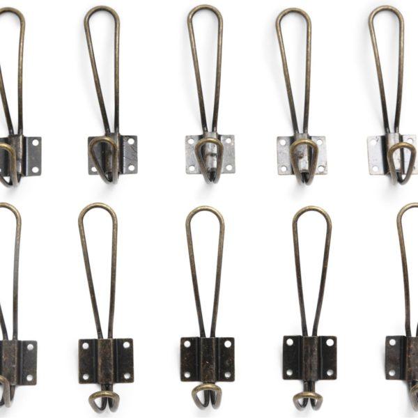 Vintage Double Coat Hangers