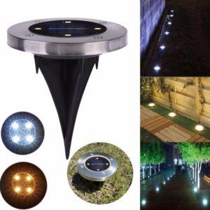 4 LED Solar Garden Light 1