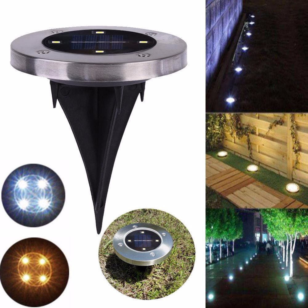 JDM Hot sale 4 x 4 LED Solar Powered Outdoor Recessed ...