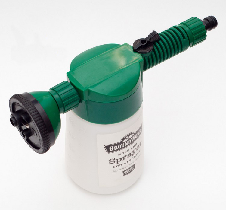 Hose end sprayer