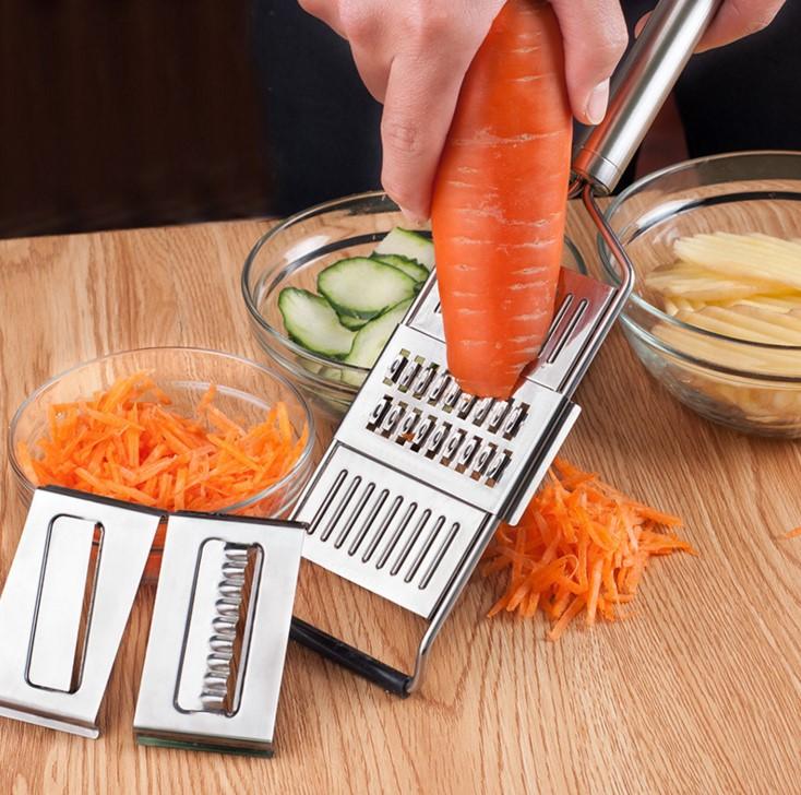 vegetable grater slicer shredder cutter stainless steel jdm blades julienne malaysia tools