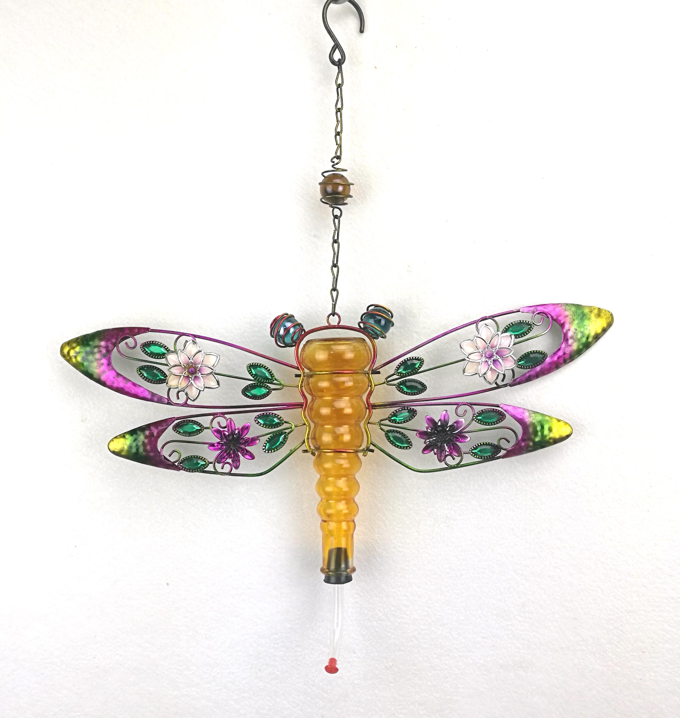 dragonfly hummingbird feeder