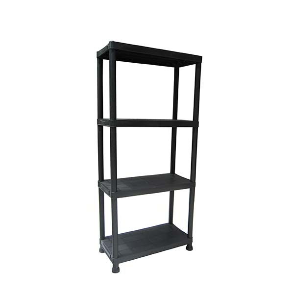 4 tier plastic shelves